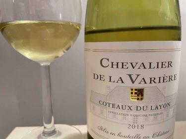 Chevalière de la variere, Coteaux du Layon=貴腐 AOC, 2018